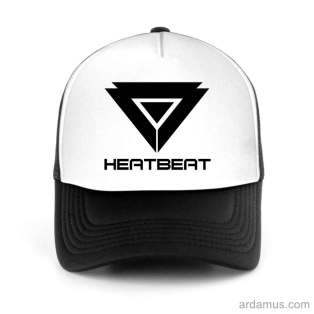 Heatbeat Trucker Hat Baseball Cap DJ by Ardamus.com Merchandise