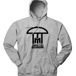 Infected Mushroom Logo Hoodie Sweatshirt by Ardamus.com Merchandise