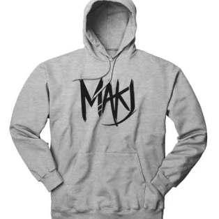 MakJ Hoodie Sweatshirt by Ardamus.com Merchandise