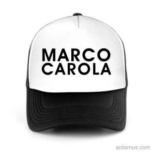 Marco Carola Trucker Hat Baseball Cap DJ by Ardamus.com Merchandise