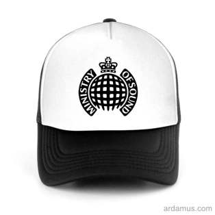 Ministry Of Sound Trucker Hat Baseball Cap DJ by Ardamus.com Merchandise