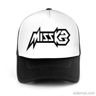 Miss K8 Trucker Hat Baseball Cap DJ by Ardamus.com Merchandise