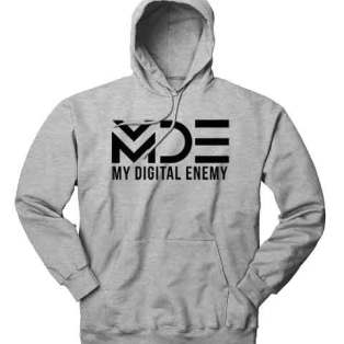 My Digital Enemy Hoodie Sweatshirt by Ardamus.com Merchandise