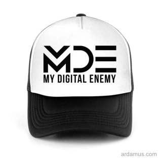 My Digital Enemy Trucker Hat Baseball Cap DJ by Ardamus.com Merchandise