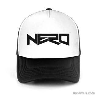 Nero Trucker Hat Baseball Cap DJ by Ardamus.com Merchandise