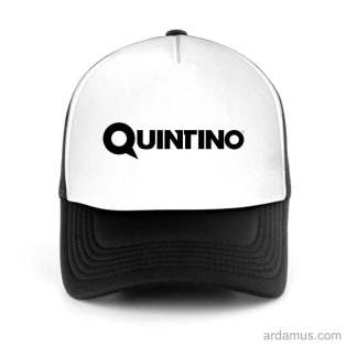 Quintino Trucker Hat Baseball Cap DJ by Ardamus.com Merchandise