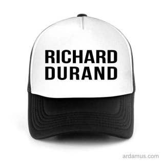 Richard Durand Trucker Hat Baseball Cap DJ by Ardamus.com Merchandise