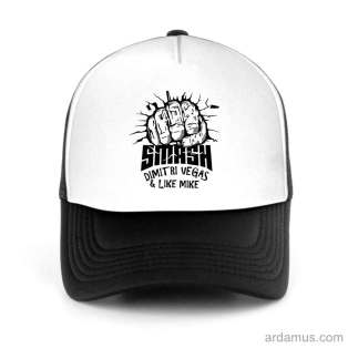 Dimitri Vegas & Like Mike DVLM Smash Trucker Hat Baseball Cap DJ by Ardamus.com Merchandise