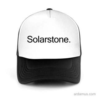 Solarstone Trucker Hat Baseball Cap DJ by Ardamus.com Merchandise