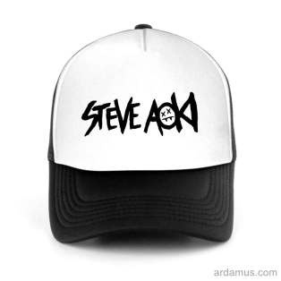 Steve Aoki Trucker Hat Baseball Cap DJ by Ardamus.com Merchandise