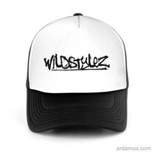 Wildstylez Trucker Hat Baseball Cap DJ by Ardamus.com Merchandise
