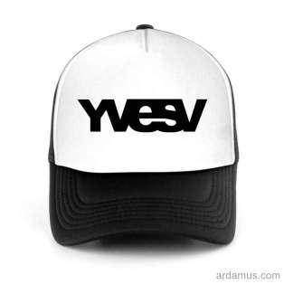 Yvesv Trucker Hat Baseball Cap DJ by Ardamus.com Merchandise