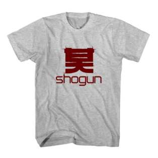 T-Shirt Shogun Men Women Tee by Ardamus.com Merchandise