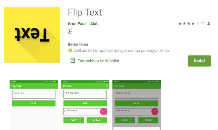download aplikasi flip text