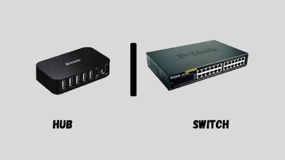 hub vs switch