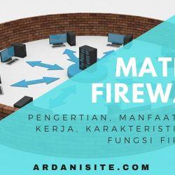 materi firewall