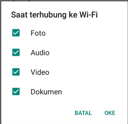 pengaturan wifi whatsapp