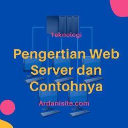pengertian web server dan contohnya