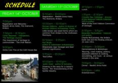 Schedule for Warp & Weft festival