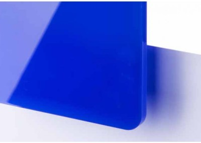 Plexi Bleu Translucide