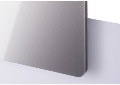 Plexi Metallic Argent Anthracite