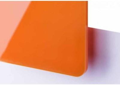 Plexi Orange Translucide