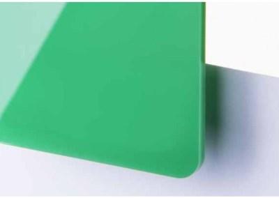 Plexi Vert Translucide