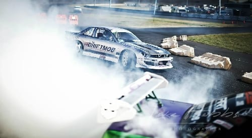 Drifting under lights at SMSP