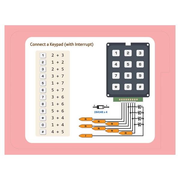 abc arduino basicas conexiones teclado