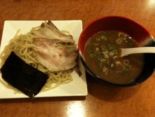 錦雲豚 つけ麺