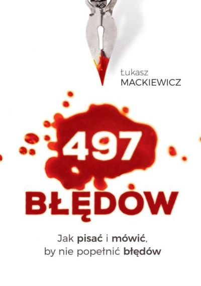 Opracowanie okładki książki 497 błędów