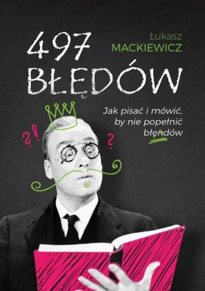 Przygotowanie okładki książki 497 błędów