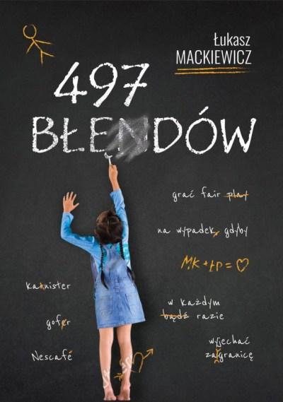 Jak przygotować okładkę do książki Tworzenie okładki książki 497 błędów