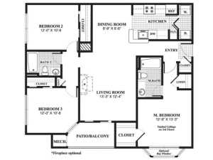 3 Bed / 2 Bath / 1,250 sq ft / Availability: Please Call / Deposit: $750 / Rent: $2,345