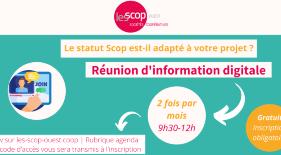 Réunions d'informations SCOP et SCIC avec l'URSCOP de l'Ouest