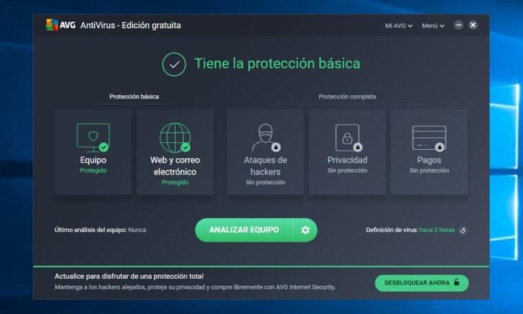 AVG Antivirus Free 2018