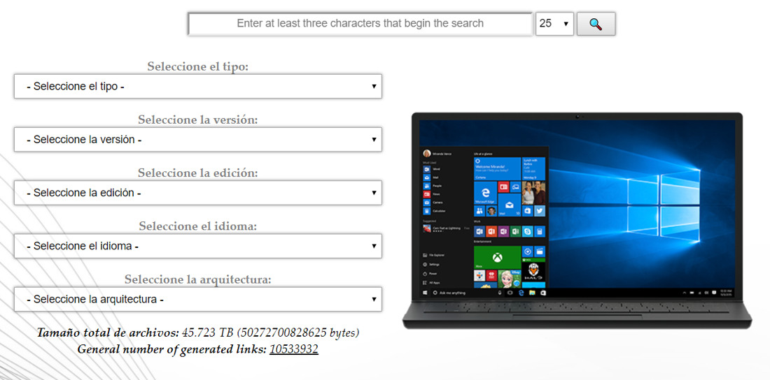 TechBench Windows 10