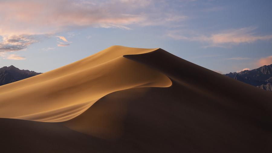 Wallpaper macOS Mojave 5k dia
