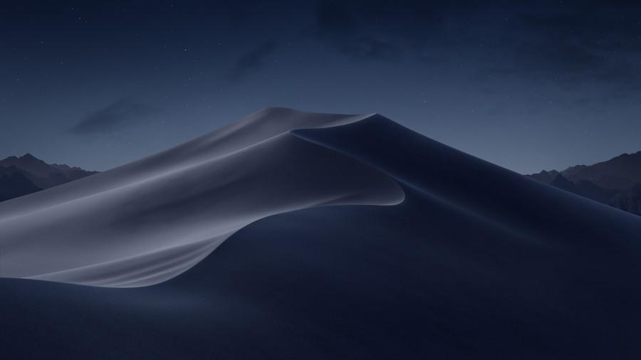 Wallpaper macOS Mojave Noche 5k