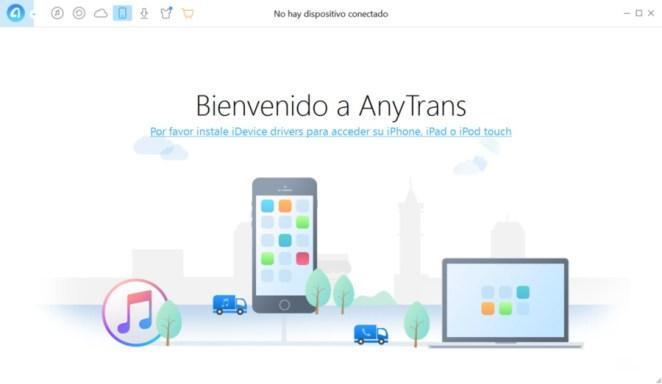 Anytrans, alternativa a iTunes