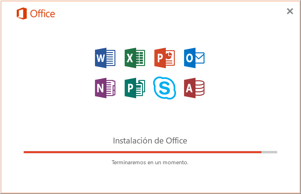 Instalación de Office 2019