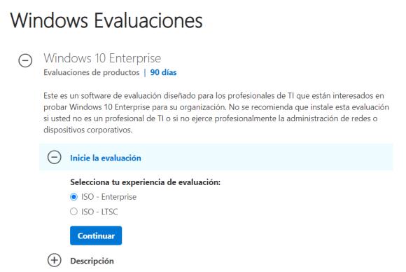 ISO Windows 10 Enterprise