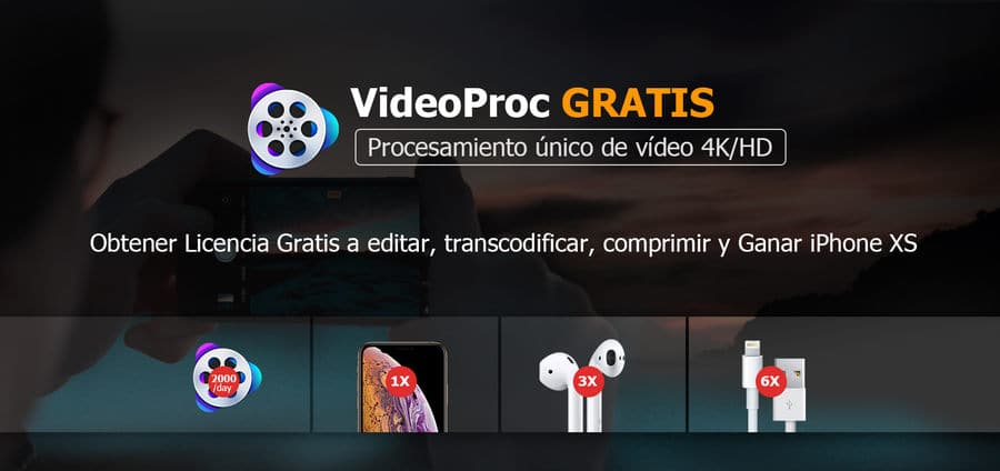 VideoProc Sorteo