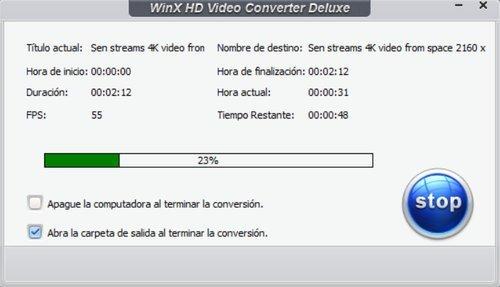 Convertir videos 4K a MP4 1080p