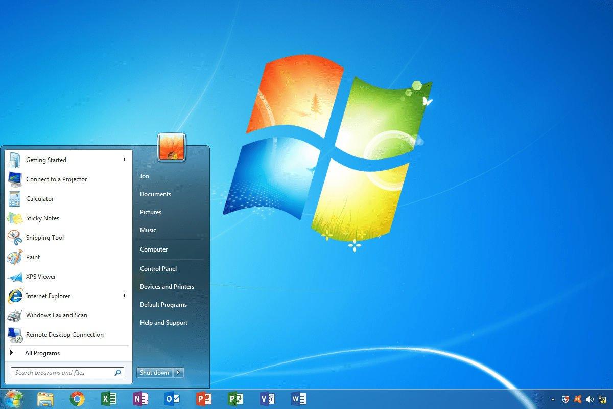 Windows 7 Professional ISO