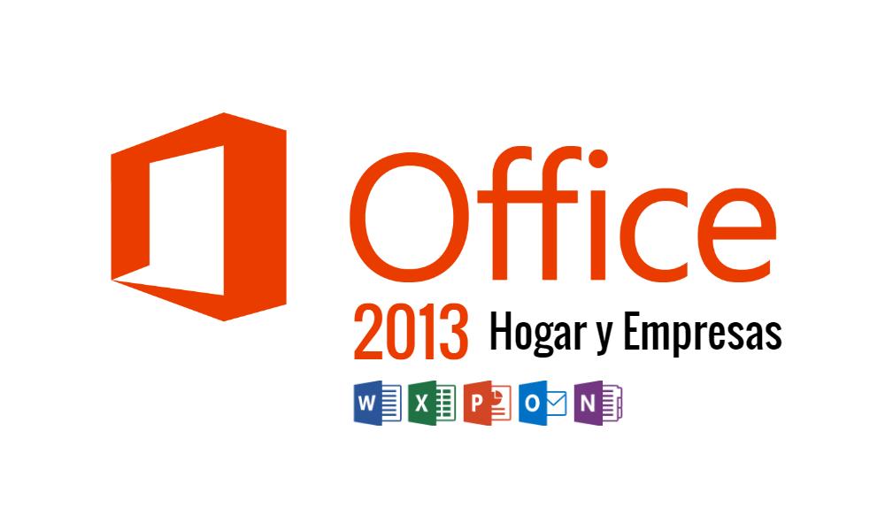 Microsoft Office 2013 Hogar y Empresas ISO