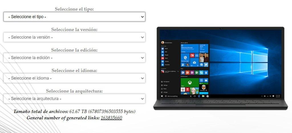 Descargar Windows y Office desde Microsoft