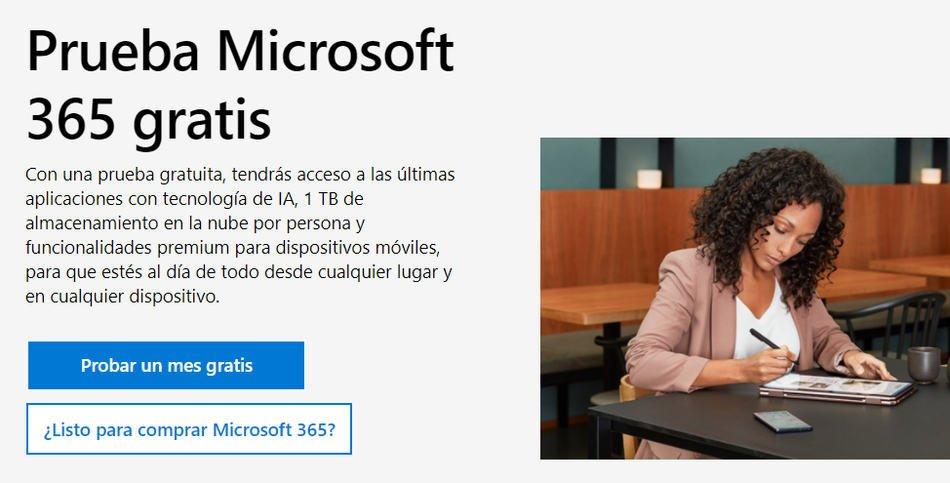 Probar gratis Microsoft 365