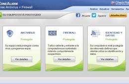 ZoneAlarm Free Antivirus gratis con firewall