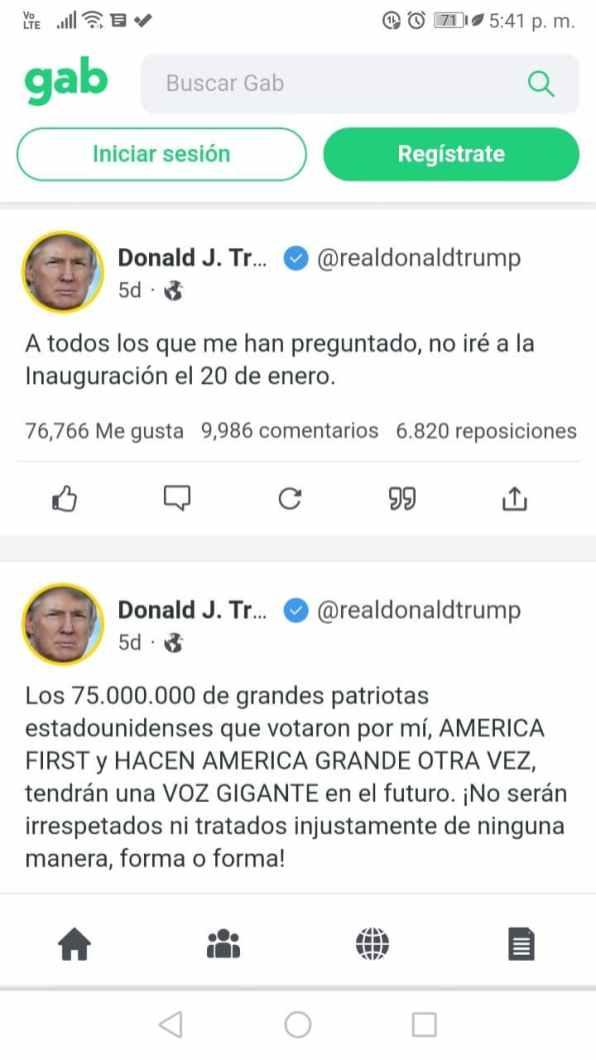 Gabs de Donald Trump